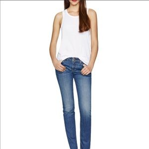 Aritzia The Castings mid rise skinny jeans 26